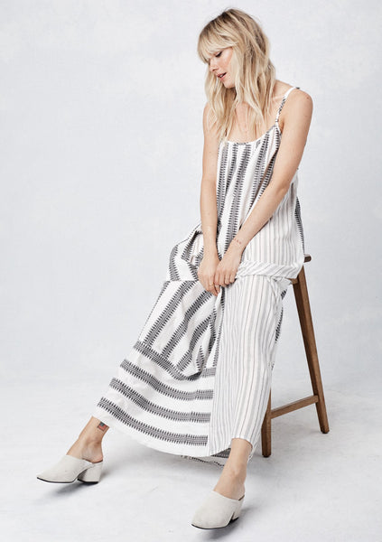 Striped Dress with crossback
