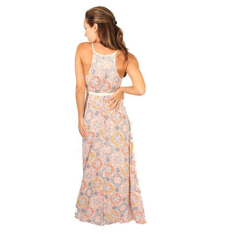 Lovestitch V-Neck Tie Waisted Maxi - Anonymous L.A. - 3