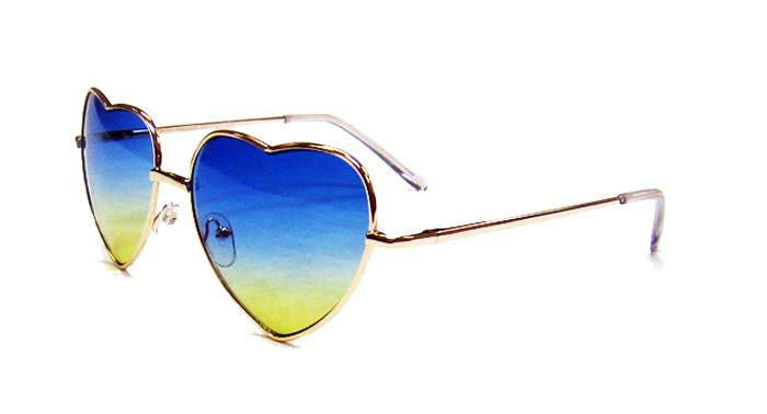 Maya hearts sunglasses
