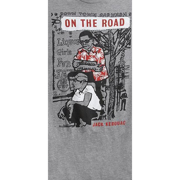 Out of Print Books: On the Road T-shirt - Anonymous L.A. - 2