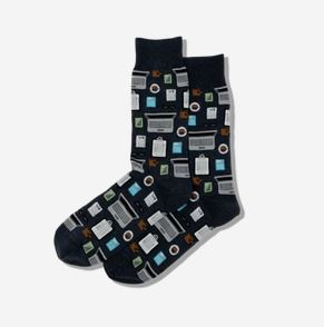 Men's Accountant Crew Socks