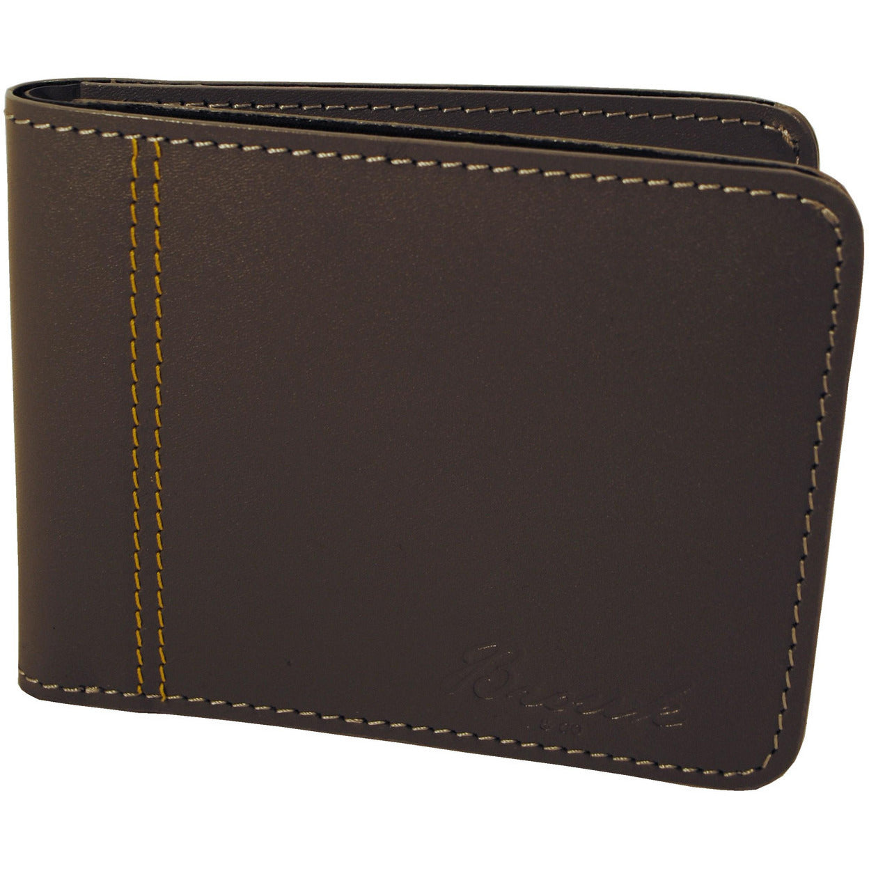 D Checkbook Wallet Split STOPPER Black Grey Cream Distressed Snap Closure