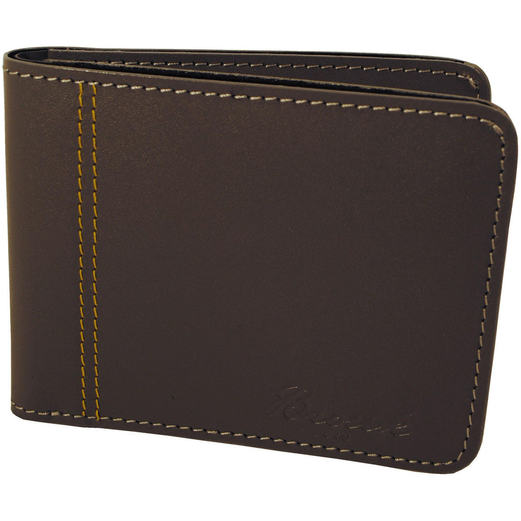 Grey Slim Genuine Leather Wallet - Anonymous L.A. - 1