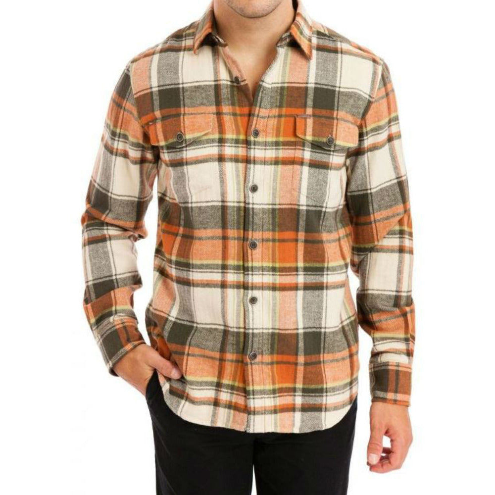 Turner Flannel - Brick - Anonymous L.A.