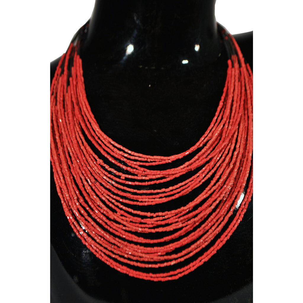 Beaded Layered Necklace - Anonymous L.A. - 1