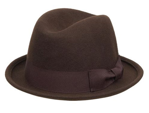 Kenny K - Brown Fedora