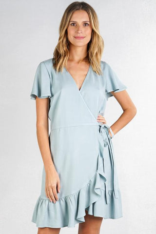 Sienna Mini Wrap Dress