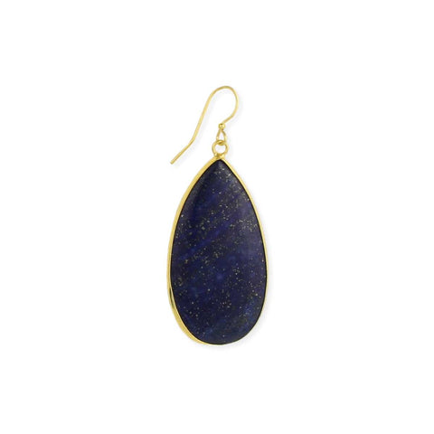 Southwest Skies Lapis Teardrop Earrings