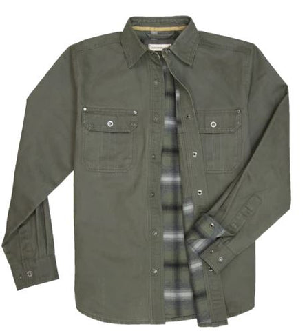 Dalton - Shirt Jacket - Verde