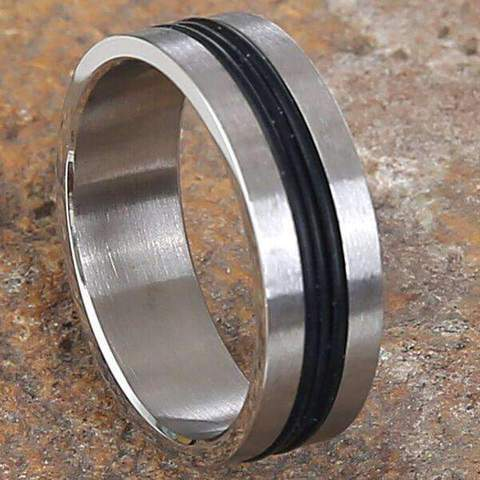 Mad Man Storm Stainless Ring