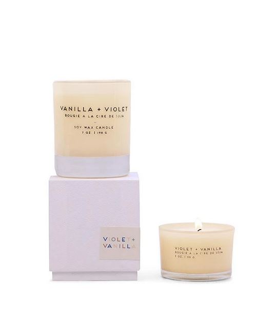 Statement Candle Vanilla + Violet