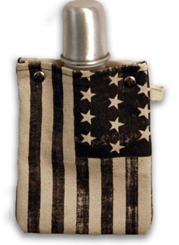 Americana - Canvas Flask 120ml