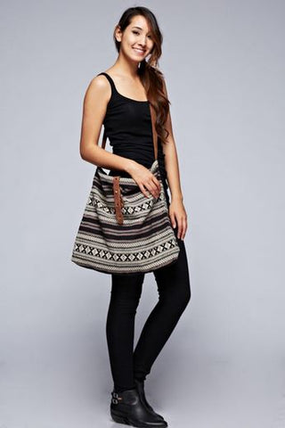 Tapestry Cross-Body Bag