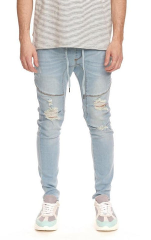 Slasher Denim Trouser