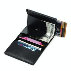 Leather RFID Credit Card Wallet