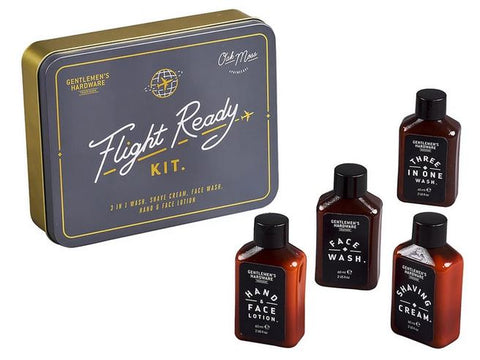 Gentlemen's Hardware Flight Ready Travel Kit
