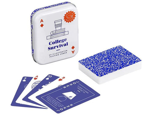 Yes Studio College Survival Playing Cards