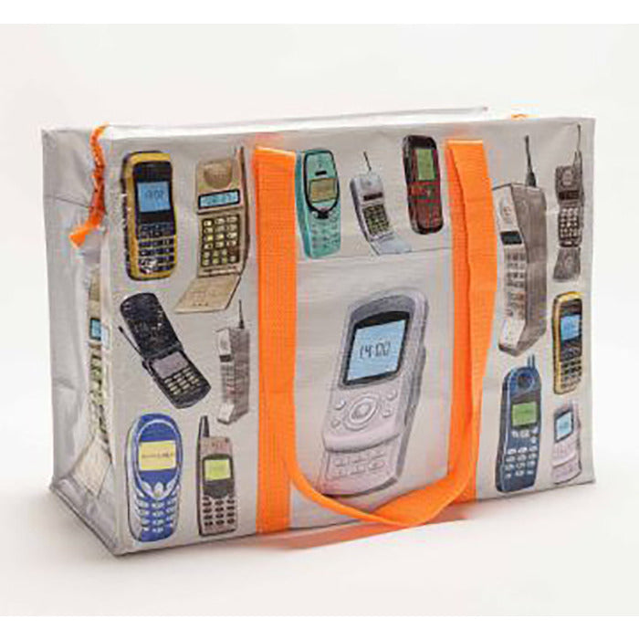 Shopper Tote All Over Cell Phones