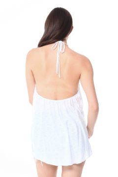 Altamont-Pre-washed jersey halter top