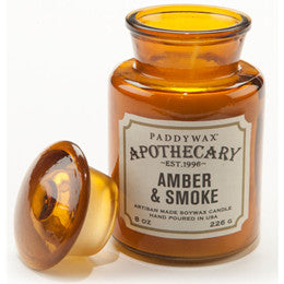 Amber & Smoke Apothecary Candle - Anonymous L.A.