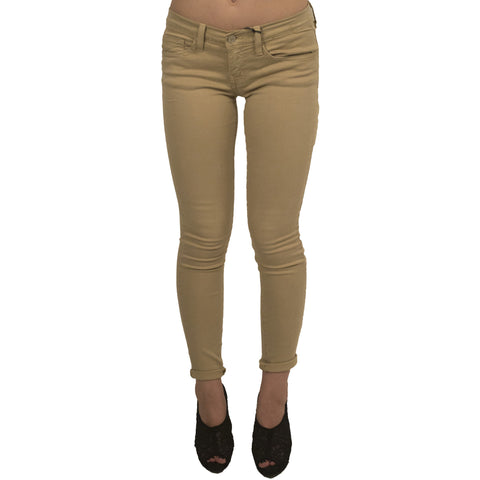 One Time Fold Ankle Skinny Jeans -Apple Wine - Anonymous L.A.