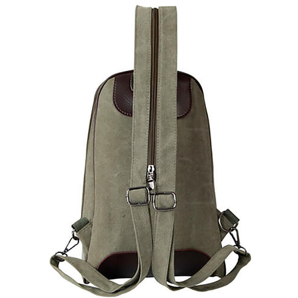 Army Canvas Back Pack - Anonymous L.A. - 2