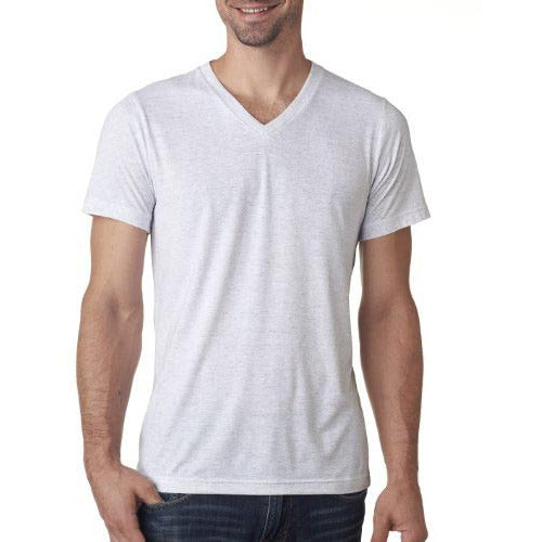 Ash Triblend Jersey V-Neck - Anonymous L.A.