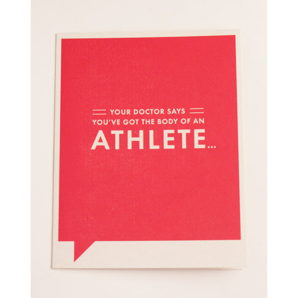 Happy Birthday / Athlete Card - Anonymous L.A. - 1