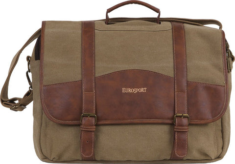 Eurosport Canvas Briefcase - Computer Bag