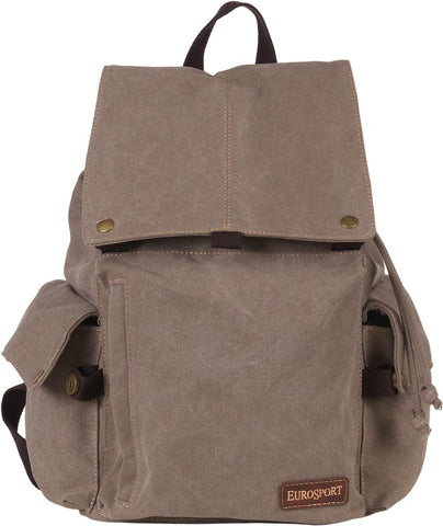 Eurosport Large Backpack W/Side Pockets
