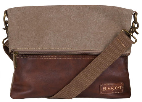 Eurosport Fold-Over Cross Body Bag