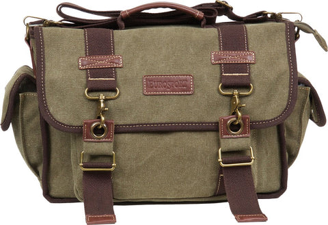 Briefcase Messanger Canvas Bag(Olive)