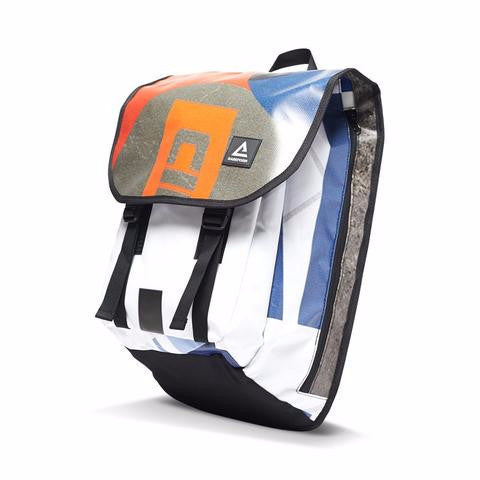 The Brooklyn Back Pack Made From Recycled Billboards - Anonymous L.A. - 1