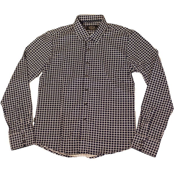 CD-4221 L/S Check Dress Shirt