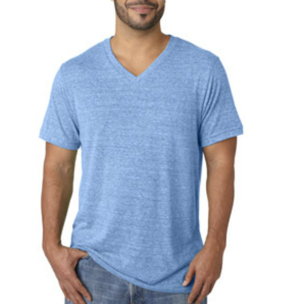 Bella + Canvas Unisex Triblend V-Neck Tee - Anonymous L.A. - 3