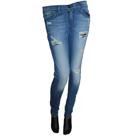 Flying Monkey L8342 Skinny Distressed Jean - Anonymous L.A.