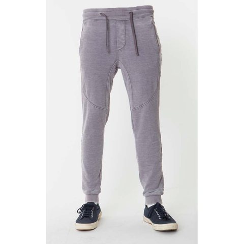 Flat Front Burnout Constructed Jogger