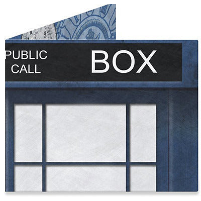 Blue Police Box 1 Mighty Wallet - Anonymous L.A. - 1