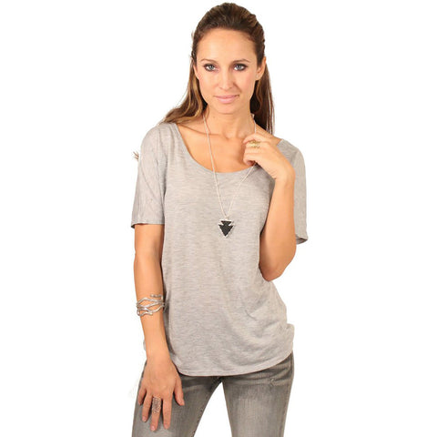 Bella + Canvas Scoop Neck Boxy Shirt - Anonymous L.A. - 1