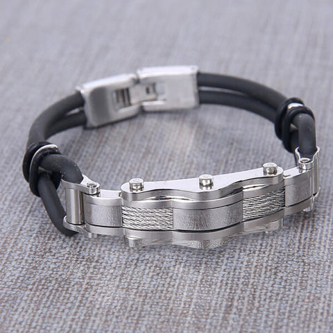 M|M Chain Reaction Stainless Steel Bracelet - Locke - Anonymous L.A.