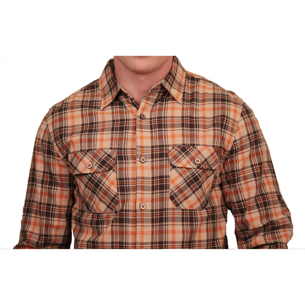 Dakota Grizzly Brewer Plaid Button-Up - Anonymous L.A. - 2