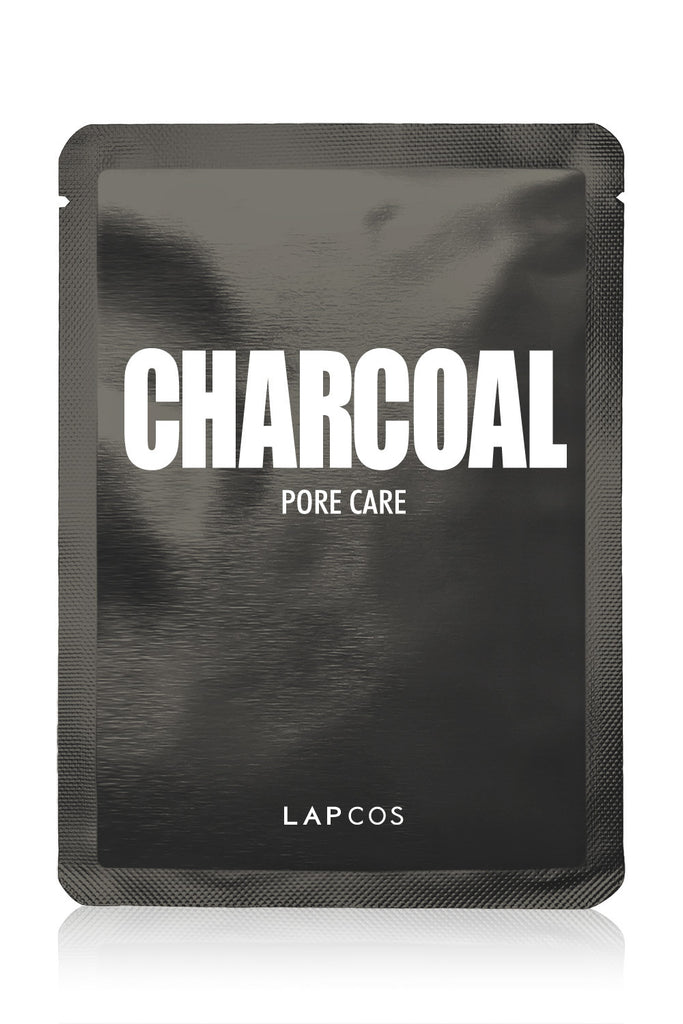 Lapcos Metallic Sheet Mask Individual - Charcoal