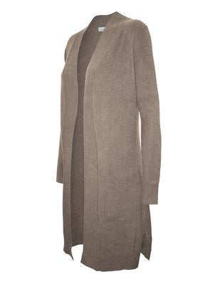 Long Open Cardigan with front Pocket