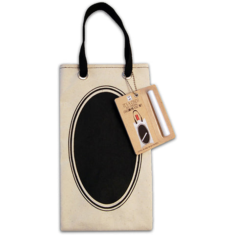 Cinch Wine Tote Bag