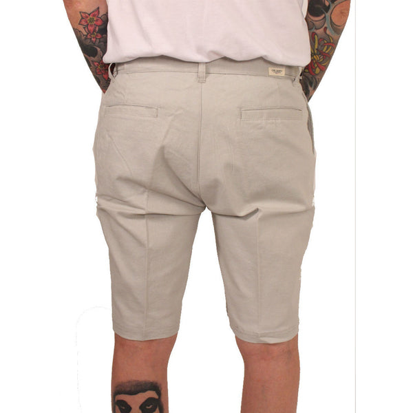 Civil Society Grey Linen Shorts - Anonymous L.A. - 3
