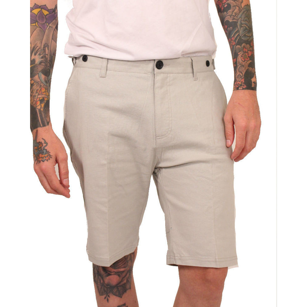 Civil Society Grey Linen Shorts - Anonymous L.A. - 1