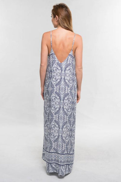 Cocoon Maxi in Blue