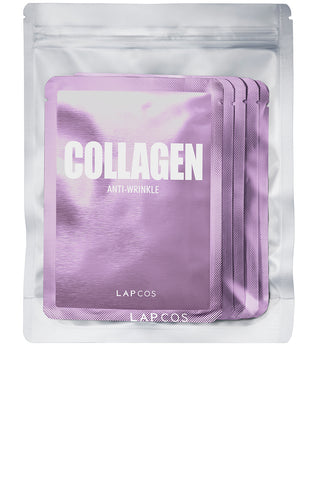 LAPCOS - Metallic Sheet Mask Set Collagen