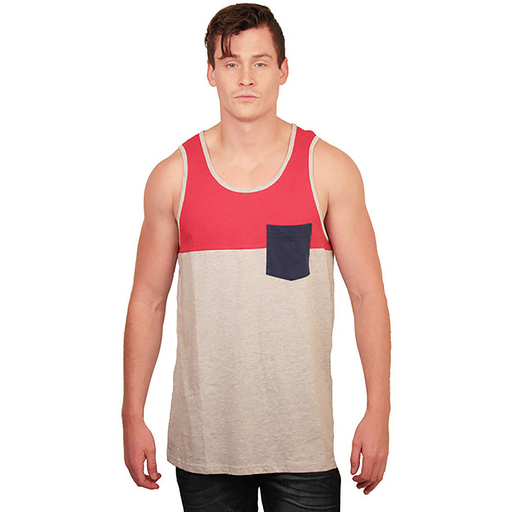 Color Block Tank - Anonymous L.A. - 1