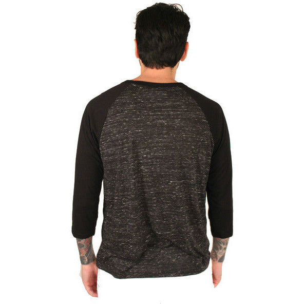 Bella + Canvas Adult 3/4 Sleeve Blended Baseball Tee - Anonymous L.A. - 3